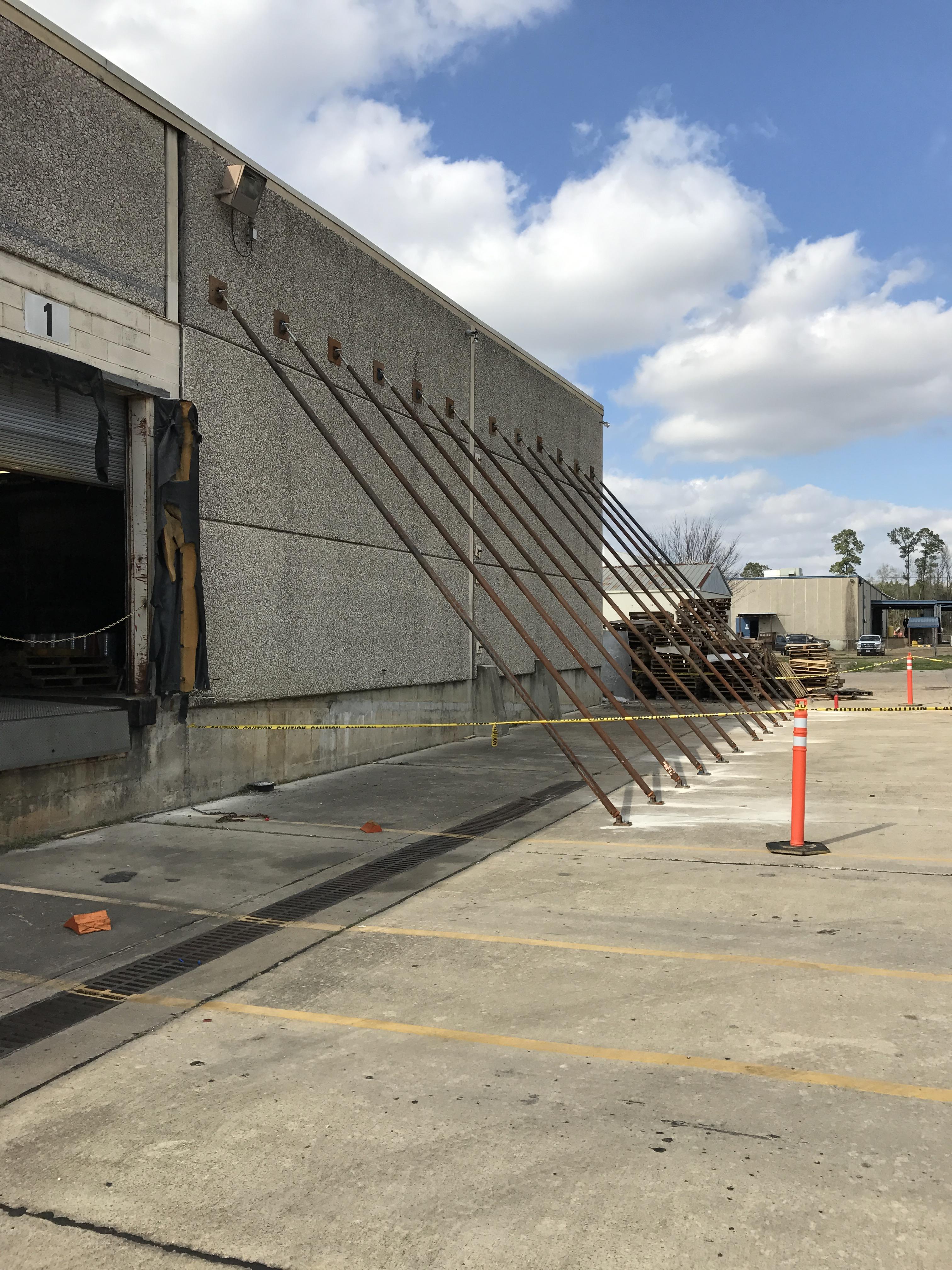 Tilt Wall Bracing Bossier City Louisiana Mondello