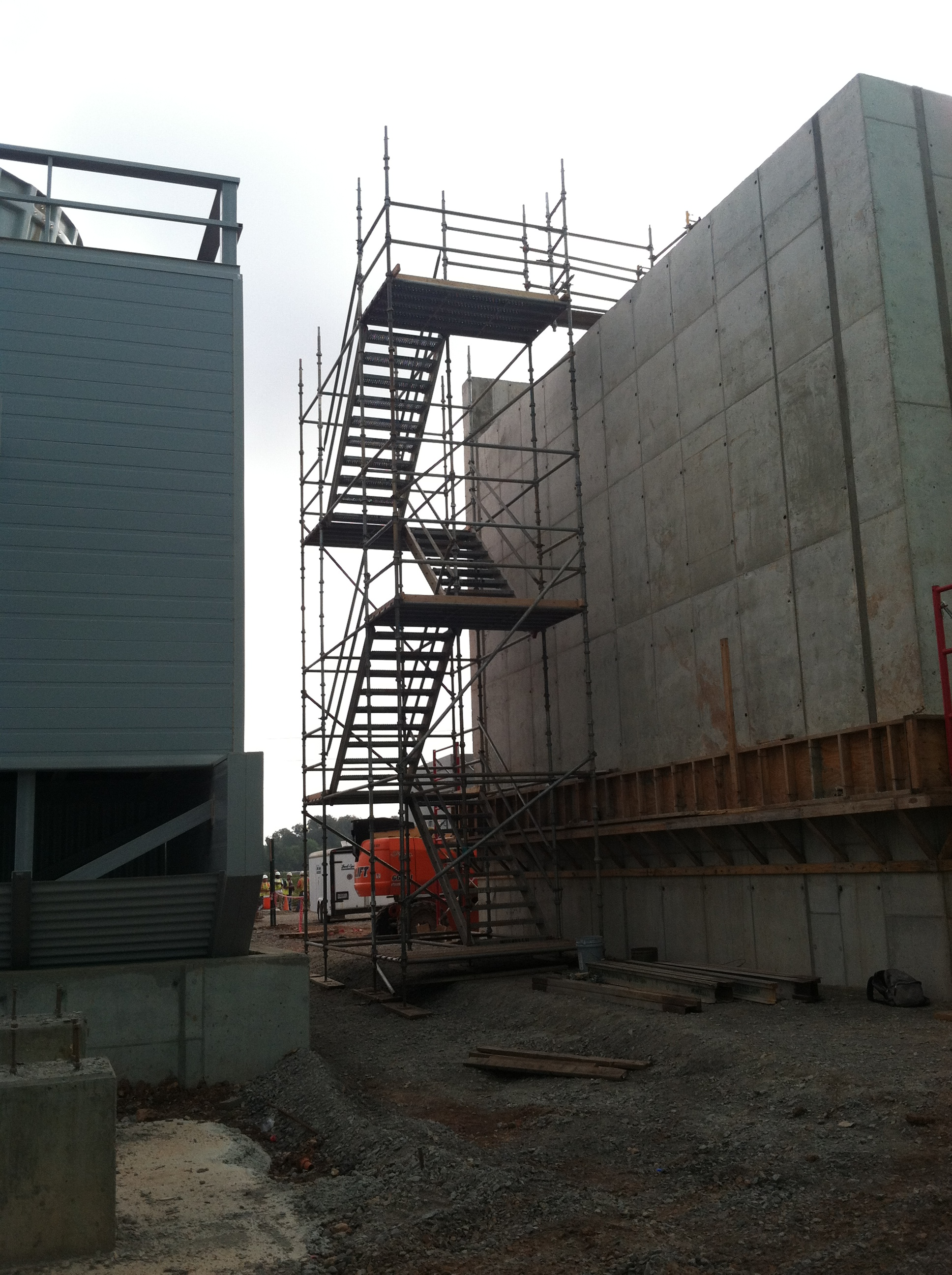 Stair tower scaffolding bossier city la mondello for Stair tower