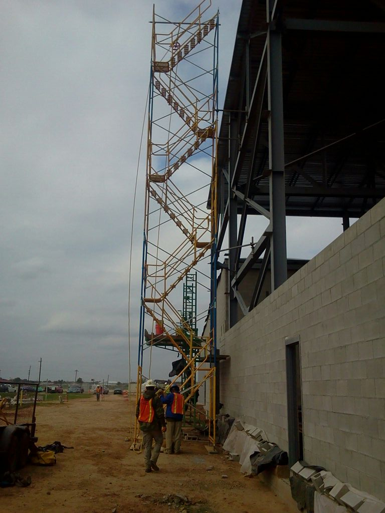 Stair Tower Scaffolding Bossier City Louisiana